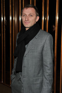 Goran Kostic at the New York premiere of