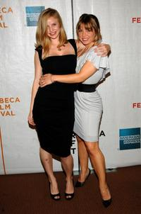 Kelli Garner and Julia Garro at the premiere of