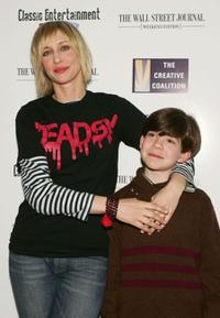 Vera Farmiga and Jacob Kogan at the 2007 Sundance Film Festival.