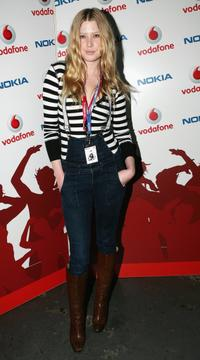 Emma Booth at the Vodafone & Nokia Launch.