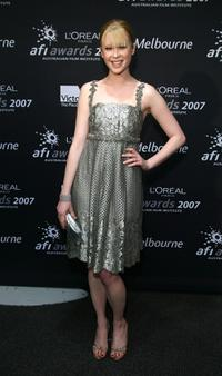 Emma Booth at the L'Oreal Paris 2007 AFI Industry Awards.