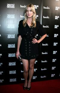 Emma Booth at the 2008 Movie Extra FilmInk Awards.