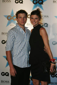 Khan Chittenden and Viva Bianca at the GQ Men of the Year Awards in Australia.