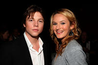 Khan Chittenden and Katie Wall at the after party of the California premiere of