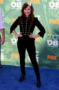 Demi Lovato at the 2008 Teen Choice Awards.