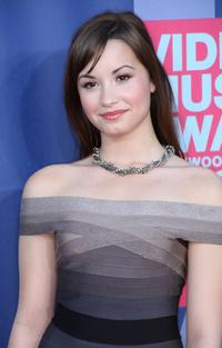 Demi Lovato at the 2008 MTV Video Music Awards.