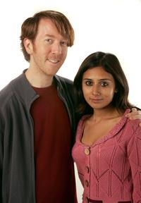 Chris Smith and Ayesha Mohan at the 2007 Sundance Film Festival.