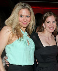 Ursula Abbott and Anna Chlumsky at the after party of
