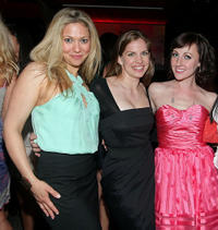 Ursula Abbott, Anna Chlumsky and Kathy Searle at the after party of