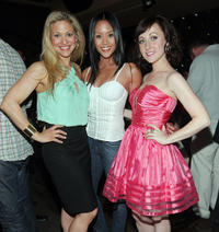 Ursula Abbott, Jessalyn Wanlim and Kathy Searle at the after party of
