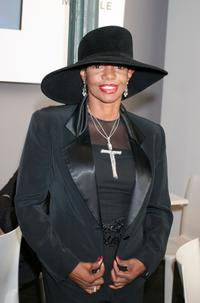 Melba Moore at the Olympus Fashion Week Spring 2006.