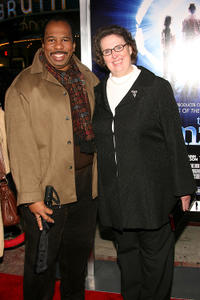 Leslie David Baker and Phyllis Smith at the California premiere of