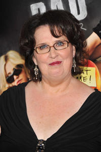 Phyllis Smith at the New York premiere of