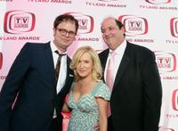 Rainn Wilson, Angela Kinsey and Brian Baumgartner at the 6th Annual TV Land Awards.