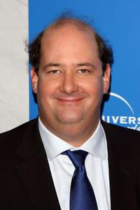 Brian Baumgartner at the NBC Universal Experience.