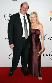 Brian Baumgartner and Angela Kinsey at the 66th Annual Golden Globe Awards.