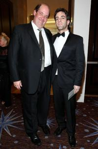 B. J. Novak and Brian Baumgartner at the 66th Golden Globe Awards.