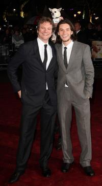 Colin Firth and Ben Barnes at the UK premiere of