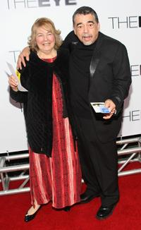 Danny Mora and his Guest at the premiere of