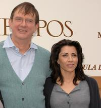 Director Mike Newell and Alicia Borrachero at the photocall of