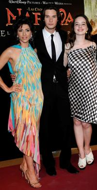 Alicia Borrachero, Ben Barnes and Anna Popplewell at the premiere of