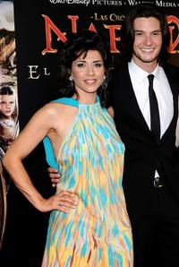 Alicia Borrachero and Ben Barnes at the premiere of