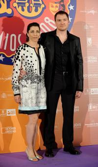 Alicia Borrachero and Guest at the 18th Spanish Actors Guild Awards.