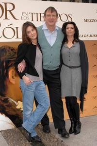 Giovanna Mezzogiorno, Director Mike Newell and Alicia Borrachero at the photocall of