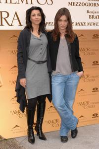 Alicia Borrachero and Giovanna Mezzogiorno at the photocall of