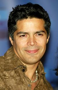 Esai Morales at the ABC-TV's All-Star party.