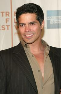 Esai Morales at the Tribeca Film Festival screening of