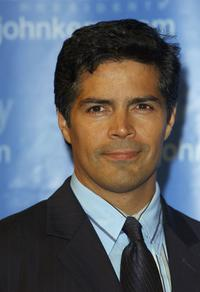 Esai Morales at the Kerry Victory 2004 concert.
