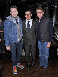 Jason Sudeikis, Fred Armisen and Kyle MacLachlan at the screening of