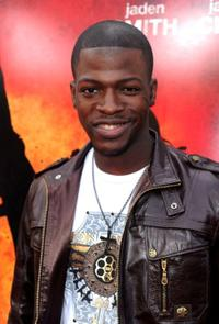 Cedric Sanders at the after party of the premiere of