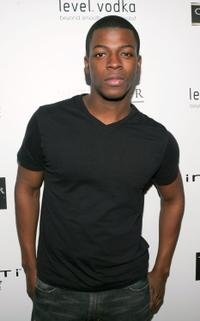 Cedric Sanders at the premiere party of