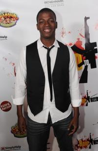 Cedric Sanders at the premiere of