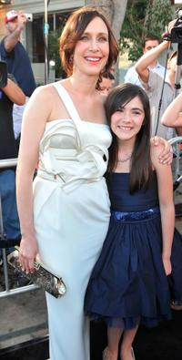 Vera Farmiga and Isabelle Fuhrman at the premiere of