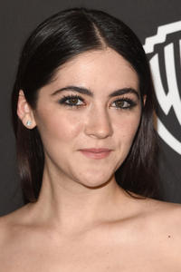 Isabelle Fuhrman at the InStyle And Warner Bros. 72nd Annual Golden Globe Awards Post-Party.