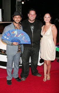 Humberto Busto, director Raul Marchand Sanchez and Elena Iguina at the Centerpiece Gala screening of