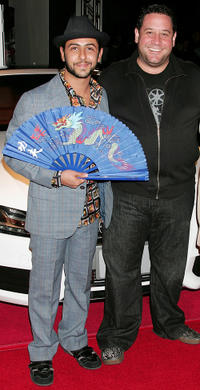 Humberto Busto and director Raul Marchand Sanchez at the Centerpiece Gala screening of