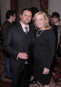 Scott Franklin and Nancy Utley at the after party of the New York premiere of
