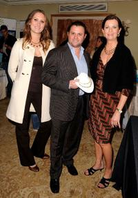 Scott Franklin and Guests at the Pre-Golden Globes DPA Gifting Lounge.