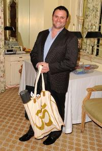 Scott Franklin at the Pre-Golden Globes DPA Gifting Lounge.