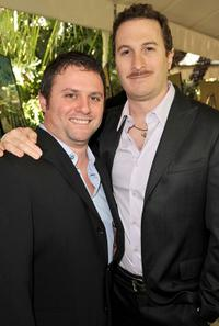 Scott Franklin and director Darren Aronofsky at the AFI Awards 2008.