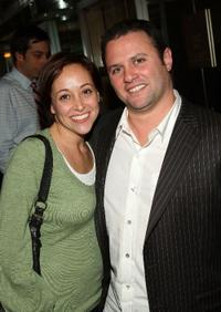 Shelby Franklin and Scott Franklin at the after party of the special screening of