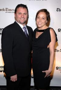 Scott Franklin and Guest at the 18th Annual Gotham Independent Film Awards.