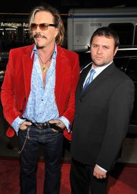 Mickey Rourke and Scott Franklin at the 2008 AFI FEST Centerpiece Gala screening of
