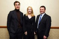 Director Doug Liman, Patricia Clarkson and Scott Franklin and 2010 Motion Picture Club luncheon.