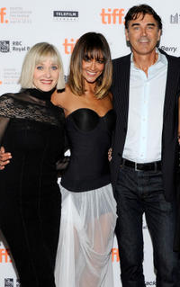 Barbara Crampton, Sharni Vinson and Rob Moran at the premiere of