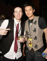 Christopher Scott and Harry Shum Jr. at the after party of the premiere of